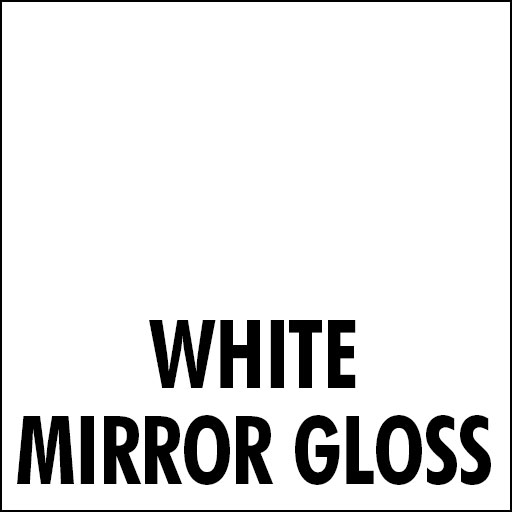white mirror gloss